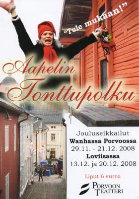 Aapelin tonttupolku_käo_kansi2008