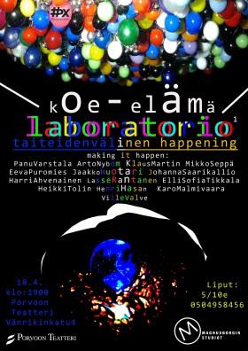 koe-elämä lab poster