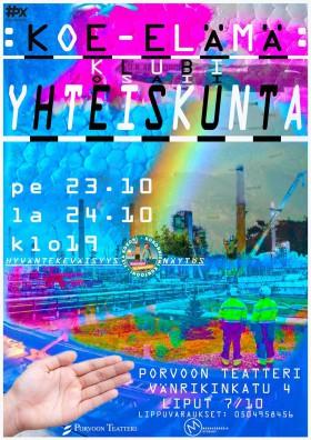 Koe-elama klubi-Yhteiskunta_juliste